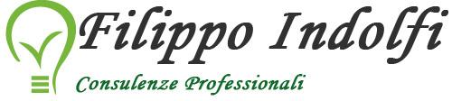 Logo e Indolfi Consulenze - 500 x 112 - Sfondo Bianco