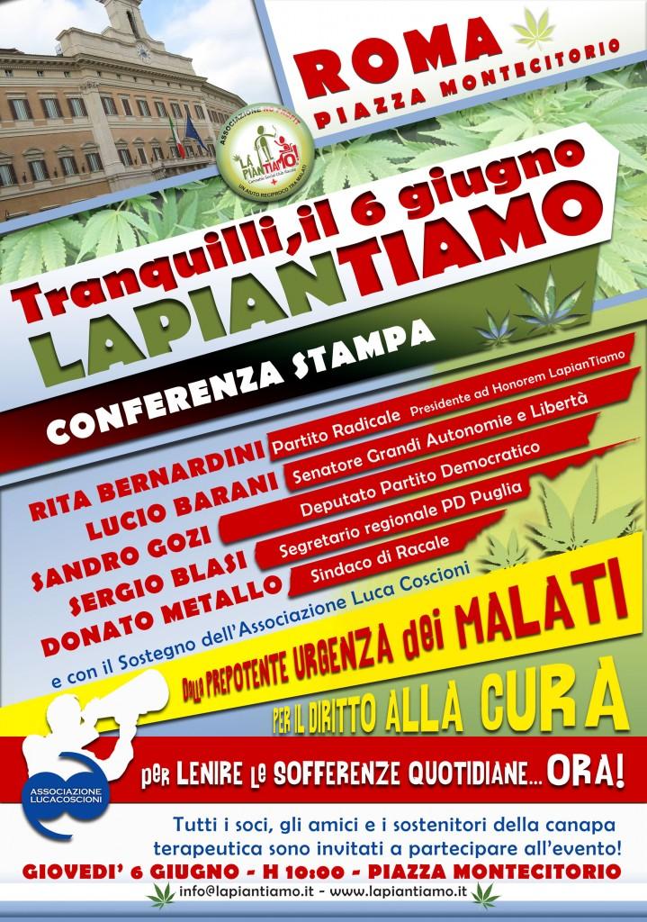 LAPIANTIAMO Locandina 6 Giugno Roma corretta